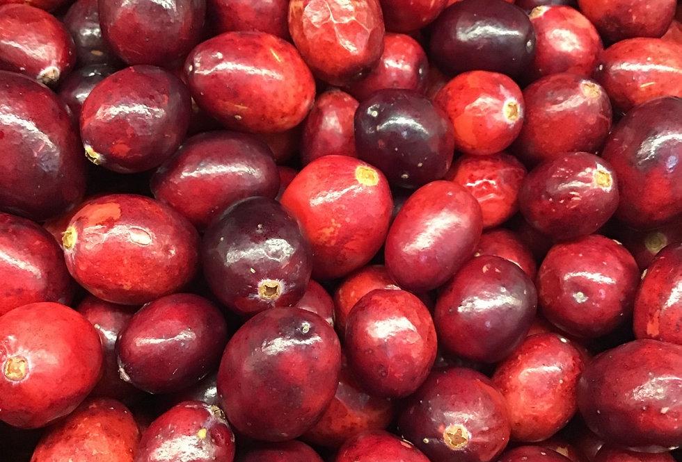 Fresh Frozen Cranberries, organic