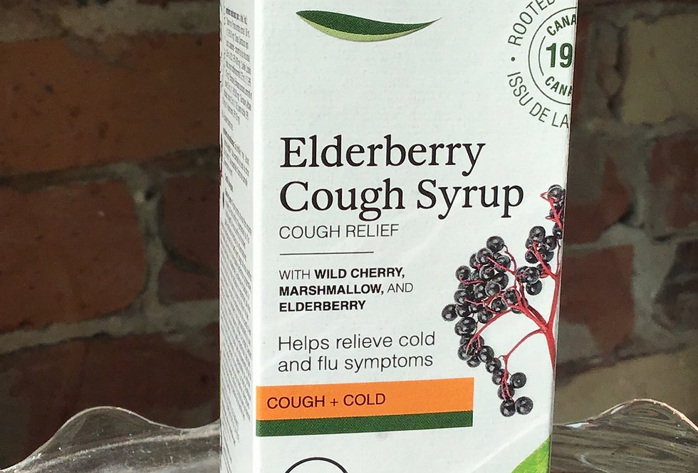 St Francis Elderberry cough Syrup