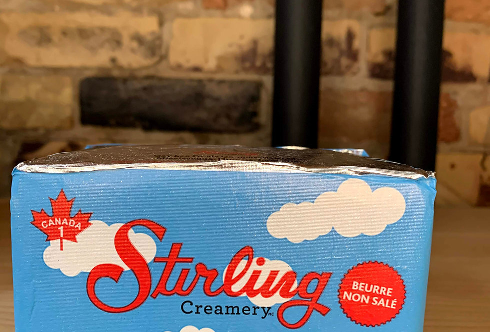Stirling Creamery Unsalted Butter