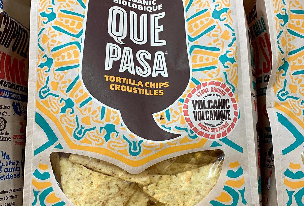 Organic Que Pasa Tortilla Chips - Salted