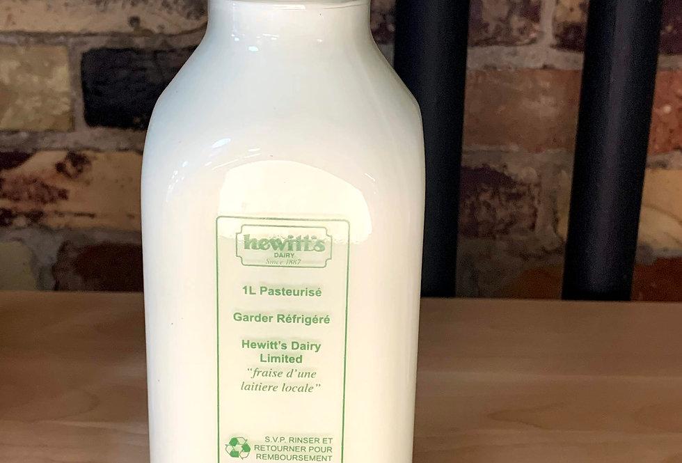 Hewitt's 2% Milk-PRICE INCLUDES BOTTLE DEPOSIT