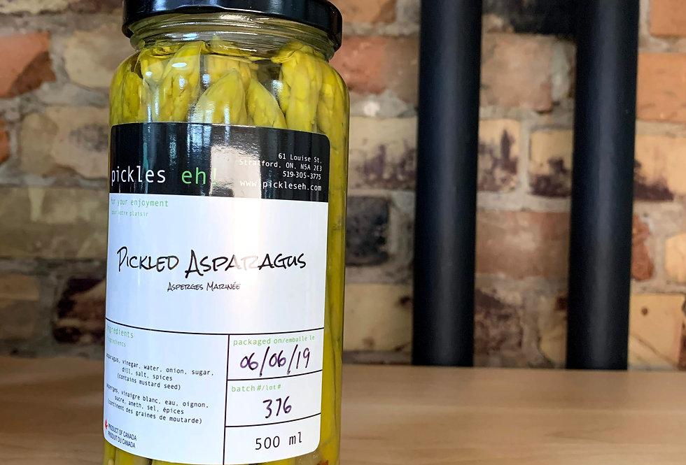 Pickles eh!  Pickled Asparagus (Stratford)