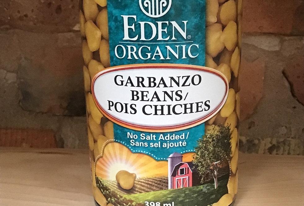 Garbanzo/chickpeas, organic