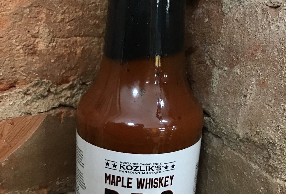 Maple Whiskey BBQ sauce