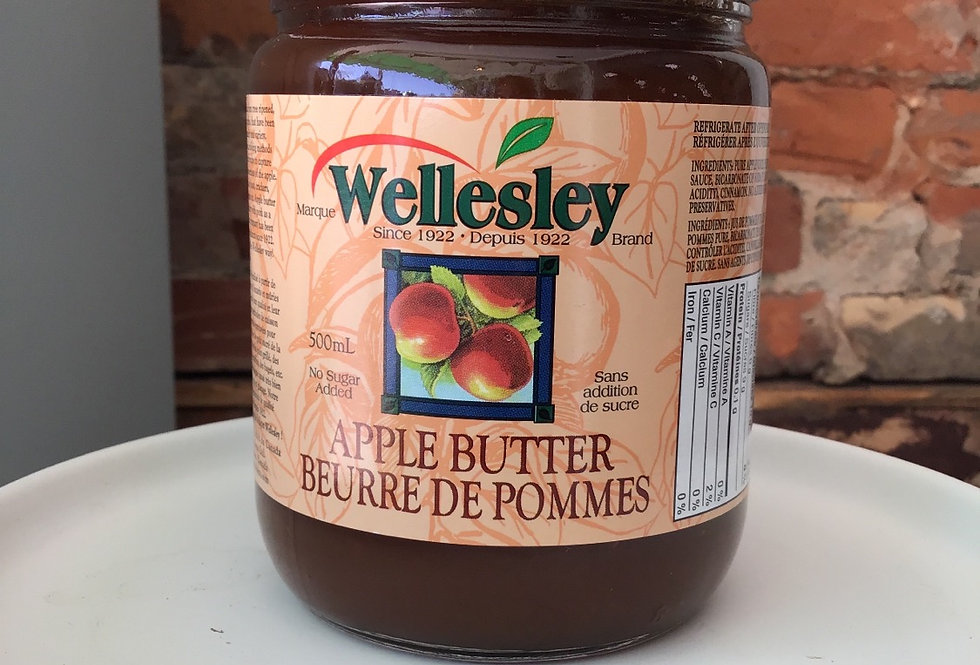 Wellesley Apple Butter - 500mL