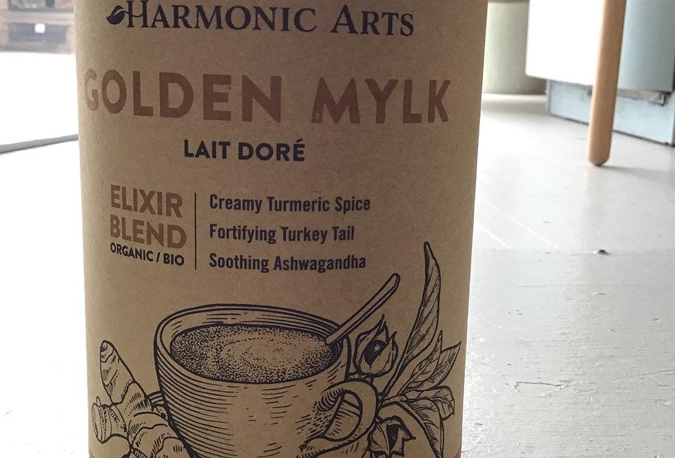 Golden Mylk: Harmonic Arts Elixir - (480g)