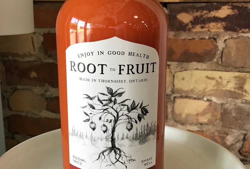 Activated Turmeric Sour Cherry - Root To Fruit