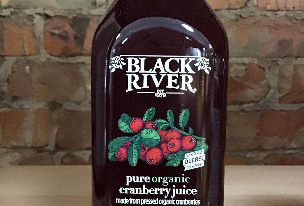 Cranberry Juice, organic, Black River 1L