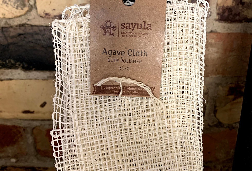 Sayula - Agave Cloth Body Polisher