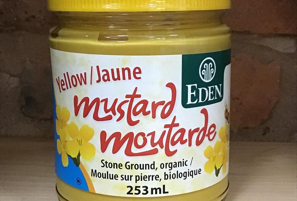 Mustard, yellow, organic