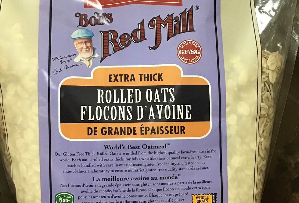 Bob's Red Mill Organic GF Rolled Oats