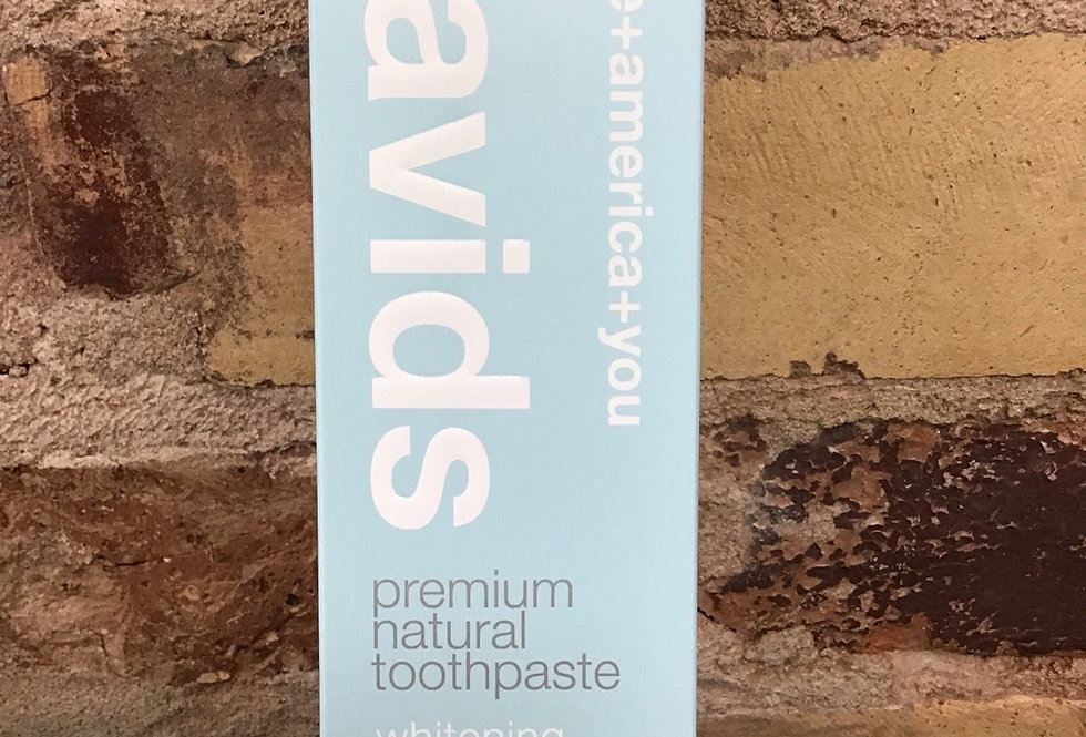 David's Premium Natural Toothpaste-Spearmint