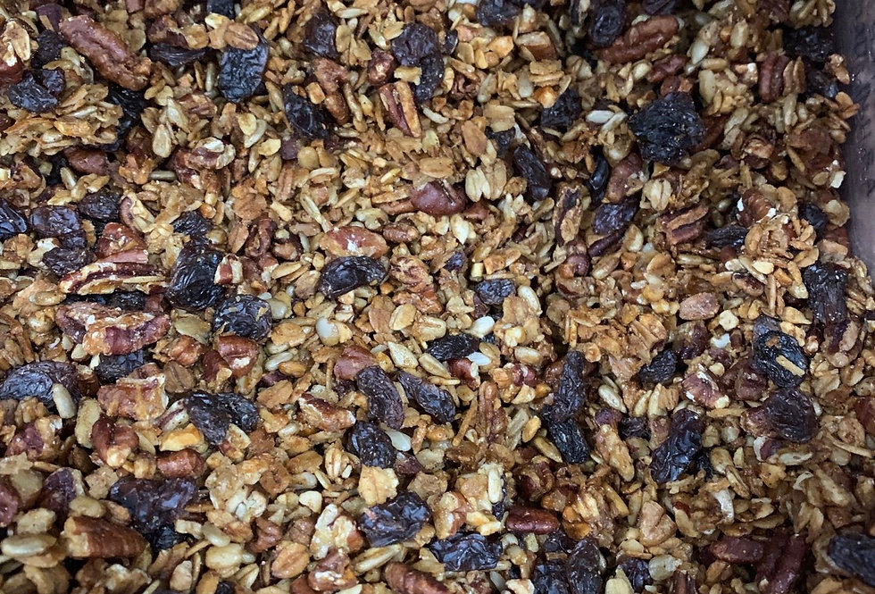 House made maple nut granola