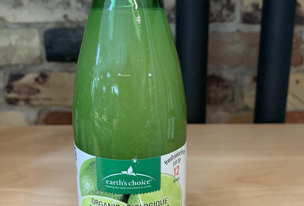 Earth's Choice Organic Lime Juice