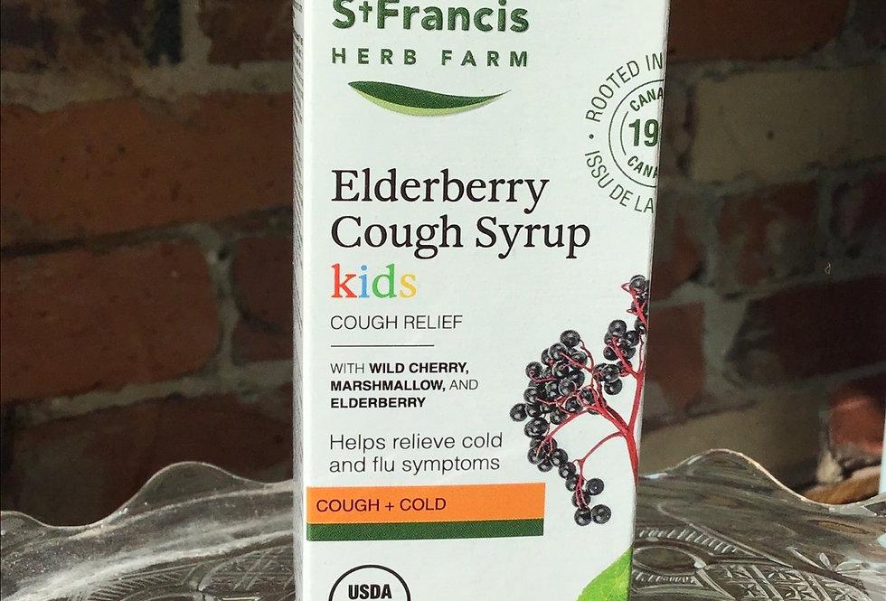 St Francis Elderberry cough Syrup-Kids