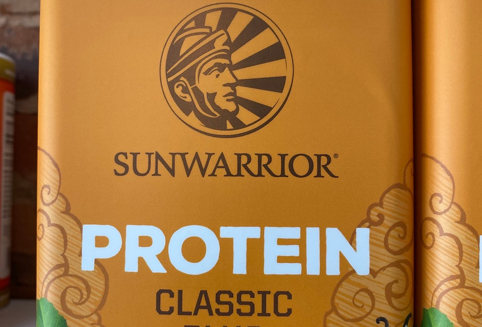 Sunwarrior Organic Sprouted and Fermented Protein Powder - Vanilla
