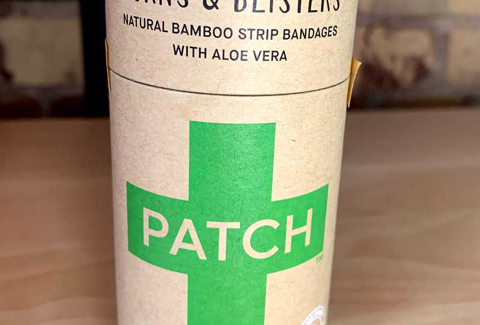 'Bandaids'- by Patch (plastic free) WITH ALOE VERA