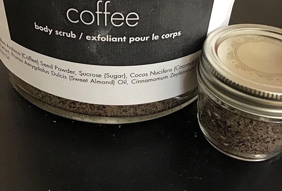 Body Scrub - coffee - 125 ml