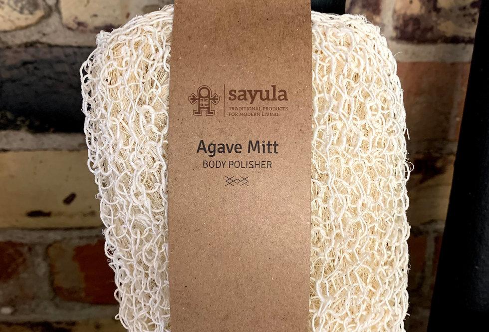 Sayula Agave Mitt- Body Polisher