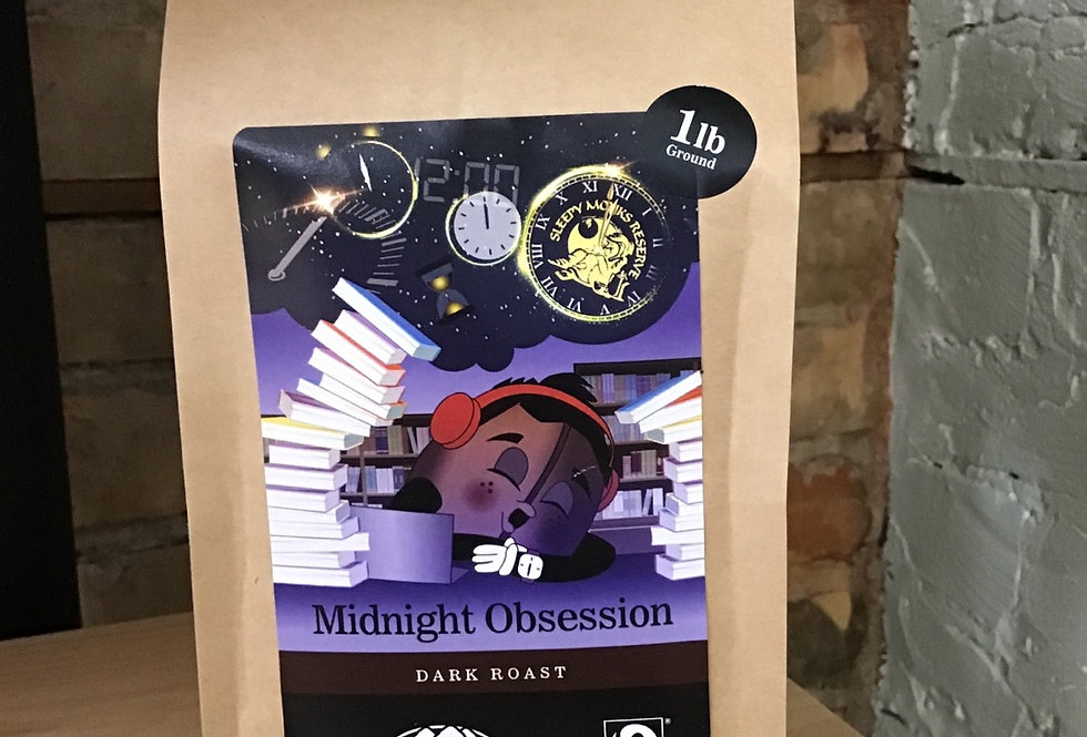 Baden Coffee Co, Midnight Obsession, ground