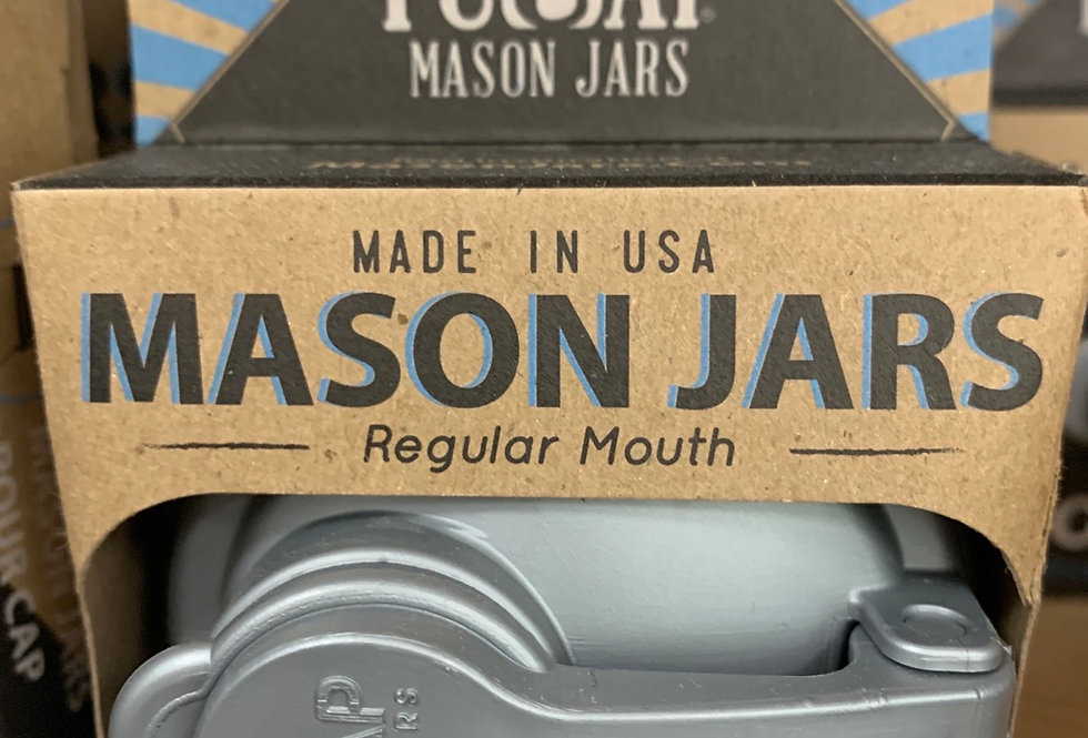 Recap Mason Jar Lids - wide mouth