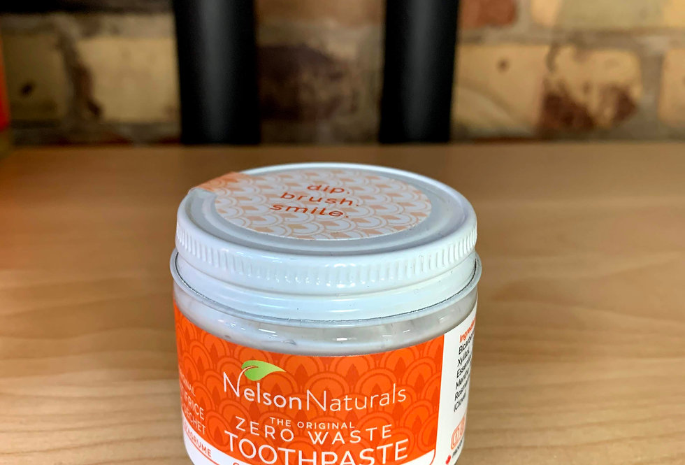 Citrus Spice Toothpaste by Nelson's Naturals