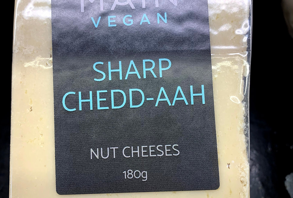 Main Vegan Deli Sharp Chedd-aah Nut cheeses