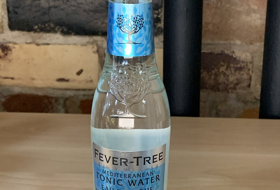 Fever Tree Mediterranean Tonic Water, single