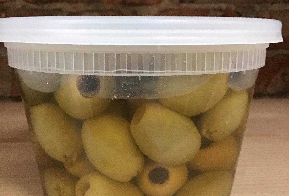 Green olives, 1/2 litre