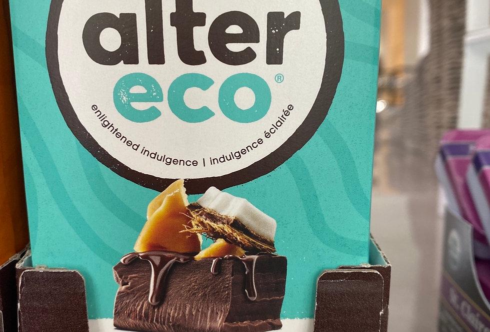 Alter Eco Coconut Toffee  47% organic, fairtrade cacao 80g chocolate bar