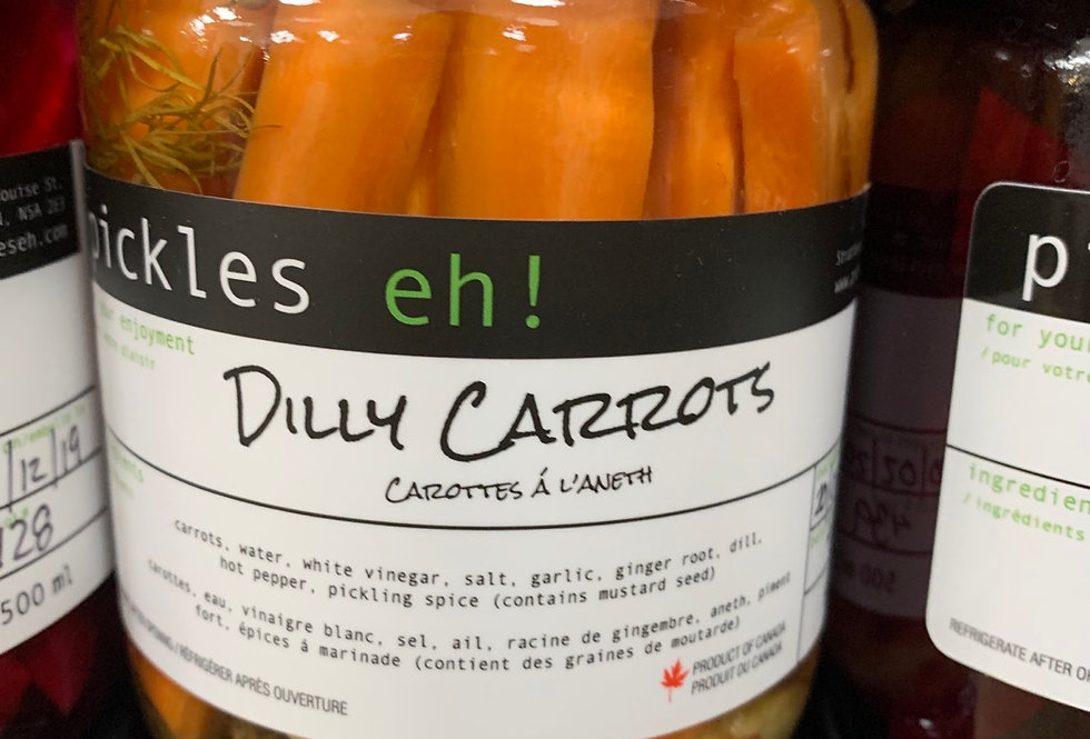 Pickles eh! - Dilly Carrots