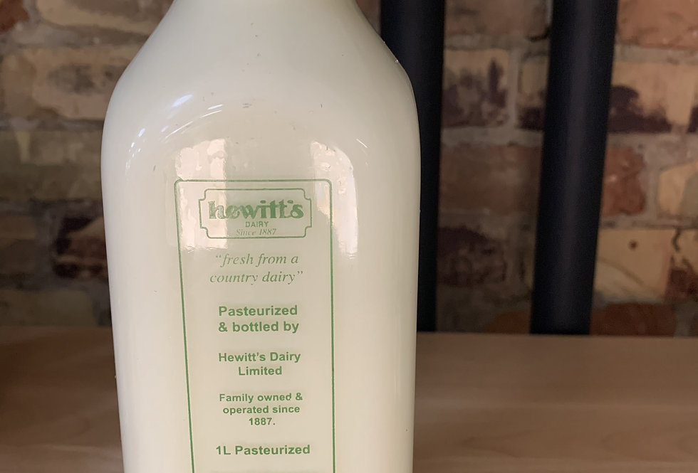 Hewitt's 1% Milk-PRICE INCLUDES BOTTLE DEPOSIT