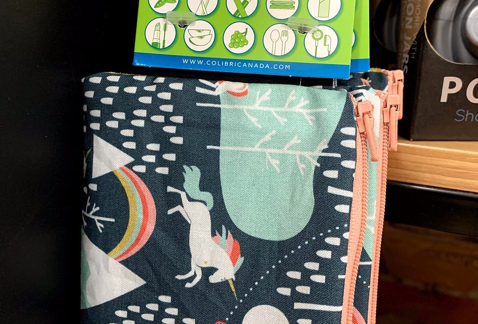 Colibri reusable snack bag (small)