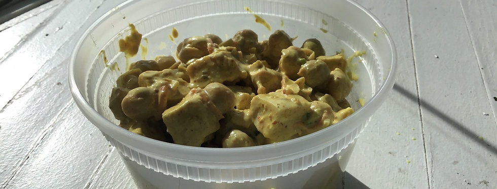 Curried Chicken and Chickpea Salad