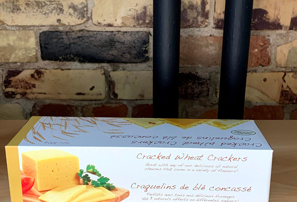 Barrie's Asparagus Cracked Wheat Crackers