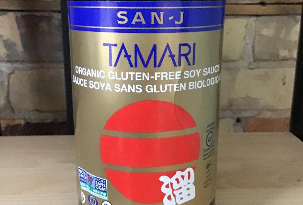 Tamari, organic, gluten free