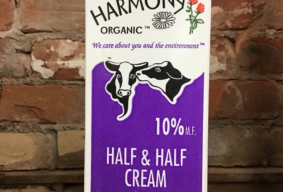Harmony Organic 10% Cream, 1lt