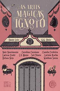 Capa As Artes Mágicas do Ignoto