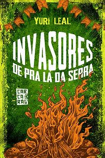 Capa Invasores de Pra Lá da Serra