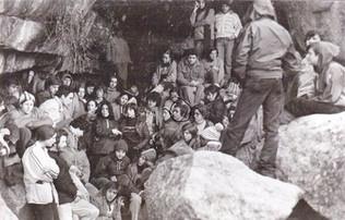 Reunión Clandestina de la JGRE en La Pedriza (Madrid).1977