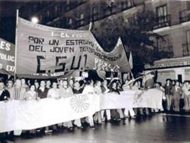 3 - Manifestacion de la CSUT en Barcelo