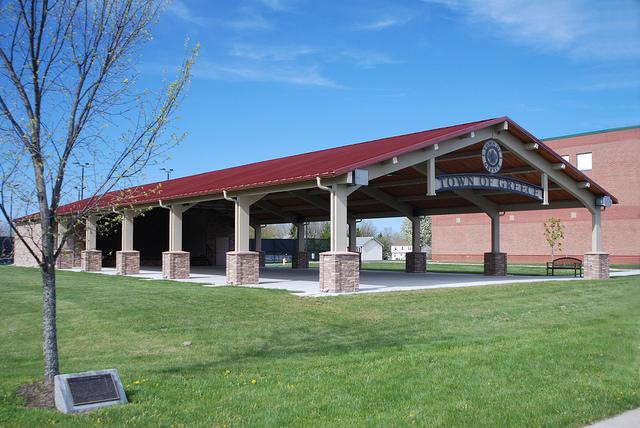Rectangle Pavilions