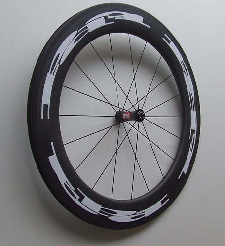 Beta front wheel clincher / tubeless compatible rim braking