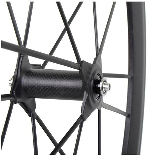 PDQ super-light spoked front wheel - no logos
