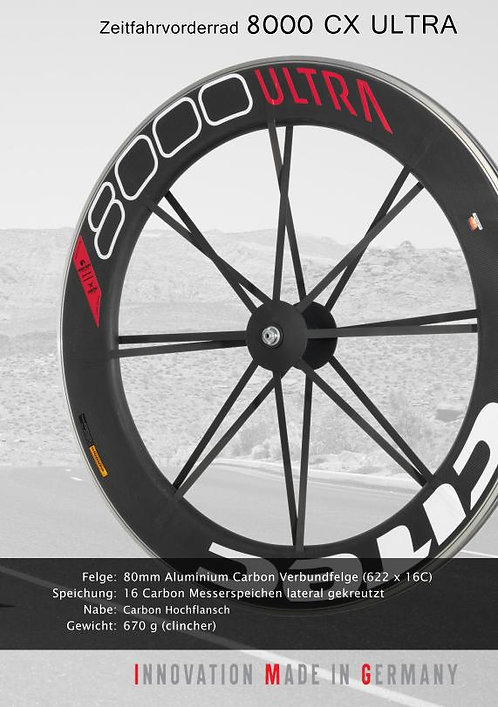Citec 8000Ultra front wheel