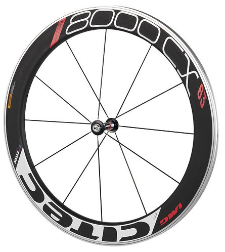 Citec 8000 CX/63 clincher front wheel