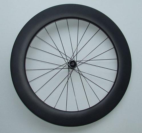 Beta front wheel tubular disc braking