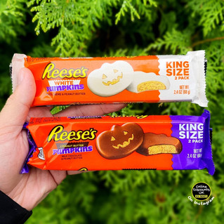 Reese's White and Peanut Butter Pumpkins