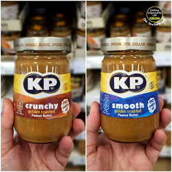 KP Smooth and Crunchy Peanut Butter