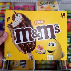 M&M's Peanut Ice Creams